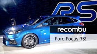 2016 Ford Focus RS: 315hp, all-wheel-drive MONSTER