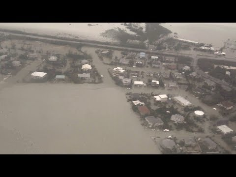 Florida Keys Flood After Irma- Aerial Views