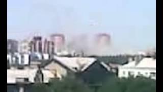 Результат артобстрела домов по Р.Люксембург, Донецк, 30.07.2014