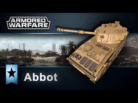 Armored Warfare : Abbot - Niby zapomniany a jednak! / miniporadnik i praktyka