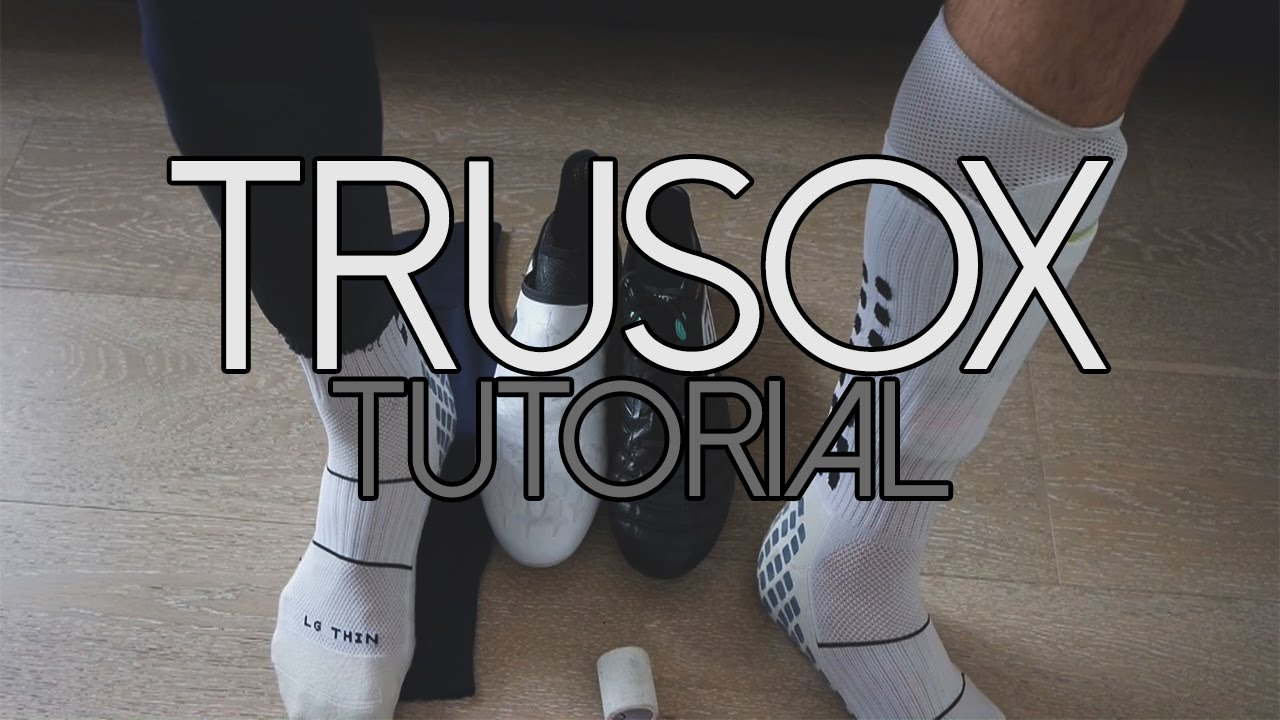 70bae9510 How to wear Trusox Professional Socks like a PRO ? - YouTube