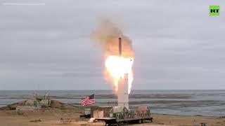 США провели запрещённое ДРСМД испытание крылатой ракеты — видео