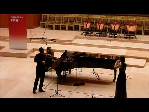 Franz Doppler - Andante and Rondo op.25 for Flute, Violin and Piano