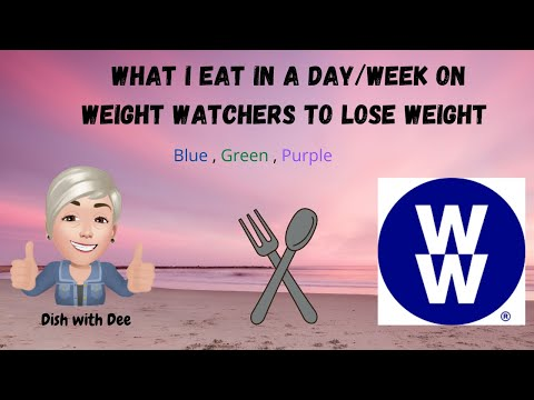 Weight Watchers What I eat in a day/week to lose weight #weightwatchers#whatieatinaday