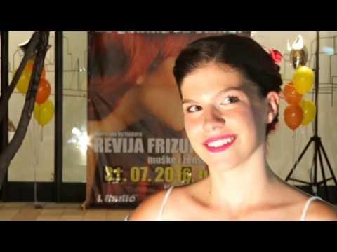 Isidora Radic revija frizura 2016