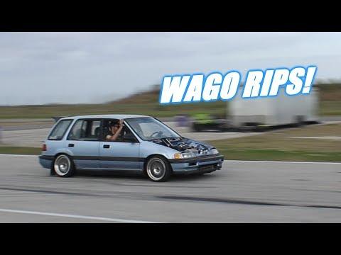 First Pulls On Wago's New Setup!