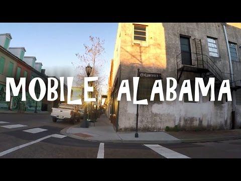 Downtown Mobile Alabama