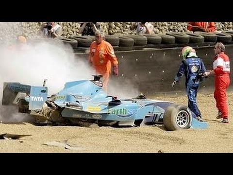 A1 GP Crash Compilation Season 3 2007 / 2008
