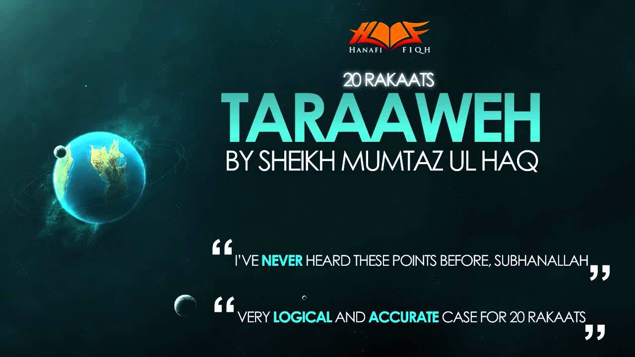 Rakaat of Taraweeh: 8 or 20? | Taraweeh