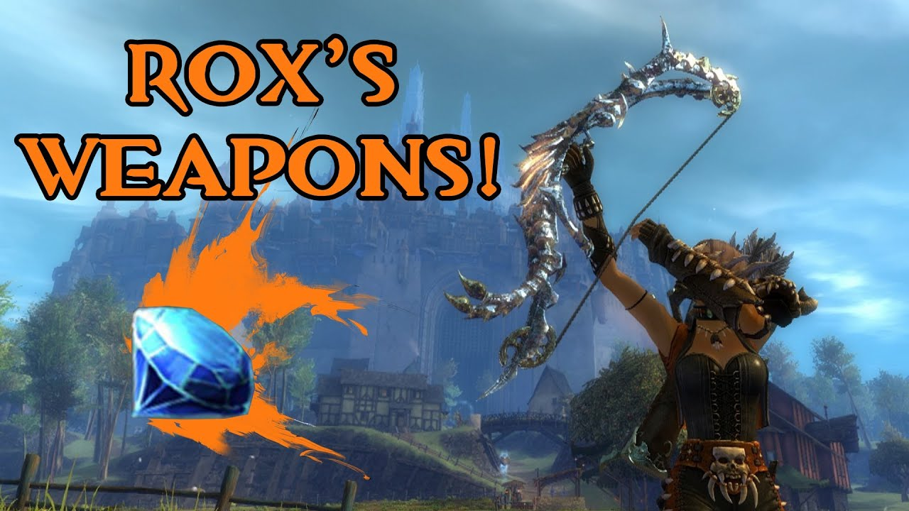 GW2 Gem Store Review | Rox's Weapons (Bow + Quiver)