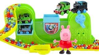 小猪佩奇魔法变色托马斯轨道玩具 Peppa pig Thomas toys
