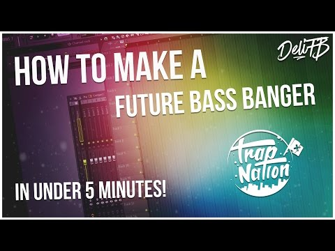 How to Make a Future Bass Banger in 5 Minutes!