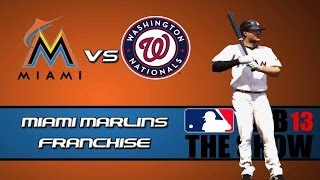 Miami Marlins Franchise Mode - Opening Day and MLB 14 The Show Plans! (MLB 13 Gameplay)