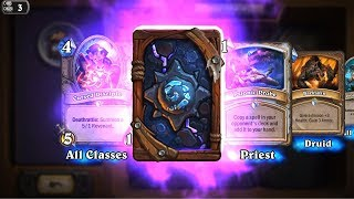 Voidlord - Kobolds and Catacombs Hearthstone epic card pack opening