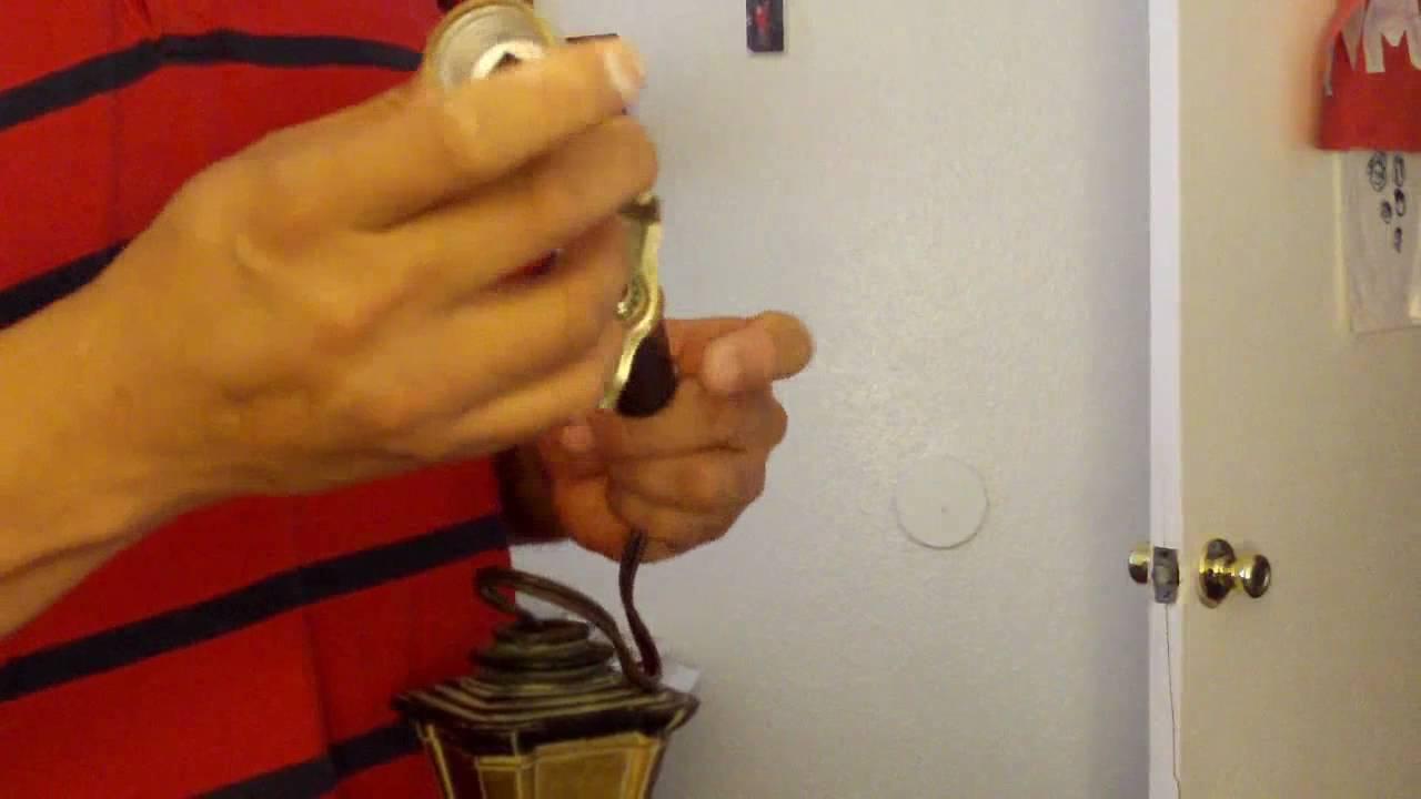 Como reparar una lampara de piso reparaciones de la casa - Como colocar una lampara ...
