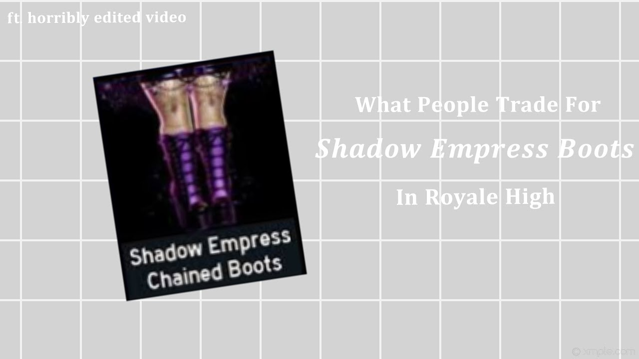 What people trade for SE boots in RH