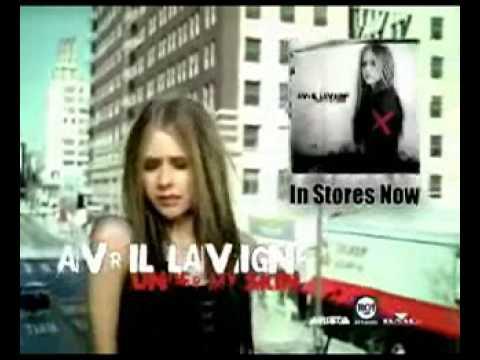 Avril Lavigne: Commercial  of Under My Skin Album