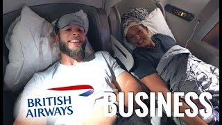 British Airways BOEING 777 Business Class - First Time REVIEW