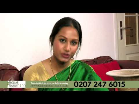 Haque & Hausmann solicitor Advert - Whitechapel London E1 1JE