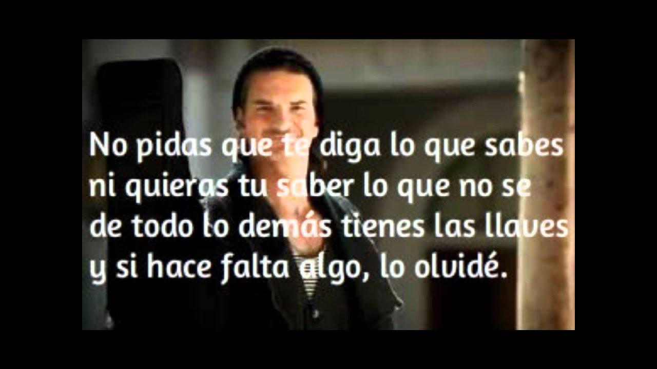 Ricardo Arjona Hay Amores Letra Youtube