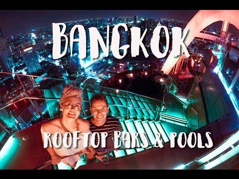 BANGKOK THAILAND VLOG DAY 3 | ROOFTOP POOL | RED SKY BAR
