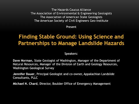 Finding Stable Ground: Using Science and Partnerships to Man