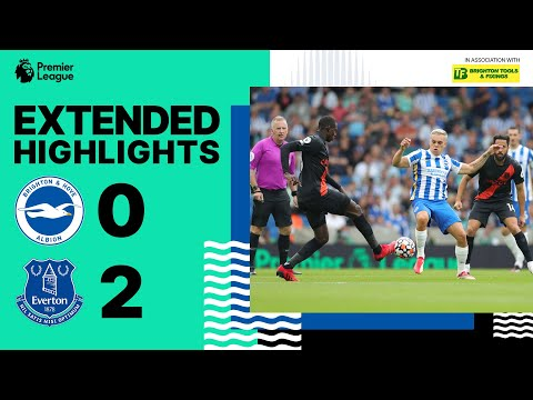 Extended PL Highlights: Albion 0 Everton 2
