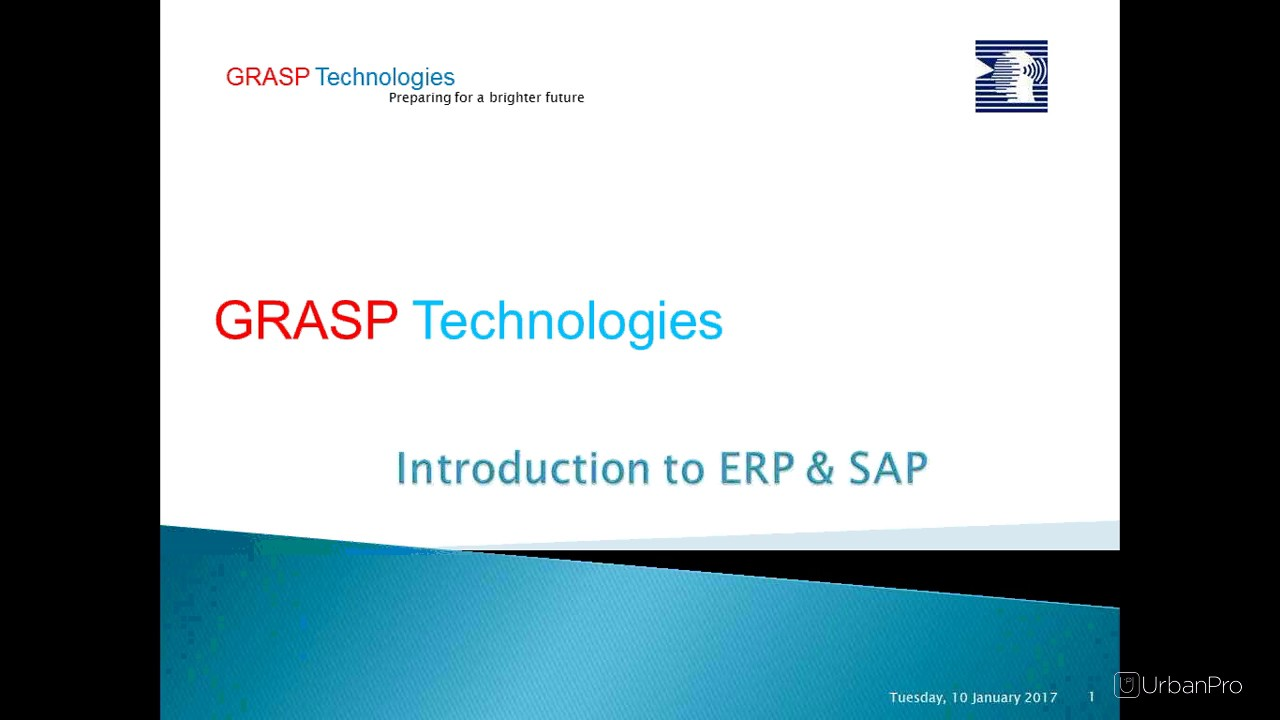 SAP FI End User Training by Grasp Technologies @UrbanPro