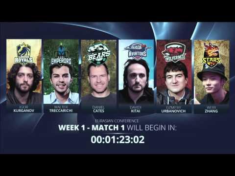 Replay: Global Poker League 6-max games 1, 2, 3 & 4 - W1M1, 2, 3 & 4
