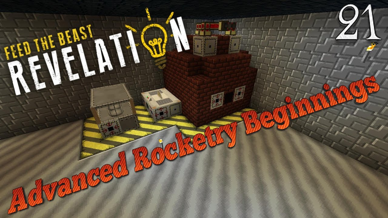 Minecraft 1 12 2 FTB Revelation - Advanced Rocketry Beginnings (21)