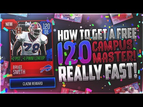 ULTIMATE GUIDE to A FREE 120 OVERALL CAMPUS HERO MASTER!? SUPER FAST! (Step-By-Step) BREAKDOWN!