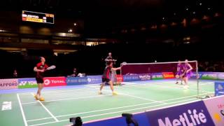 2015 Final Lee Yong Dae⁄ Yoo Yeon Seong vs Fu Haifeng⁄ Zhang Nan   Japan Open 2015 mp4