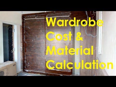 """""""Wardrobe Cost & Material Calculation"""" by CivilLane.com"""