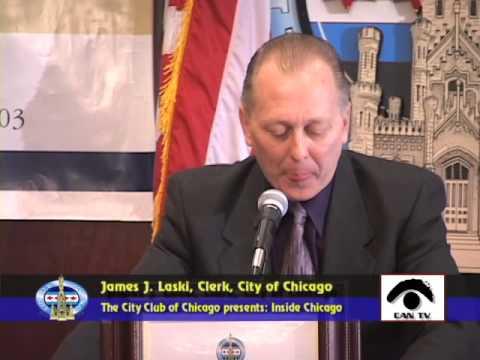 James J. Laski, Clerk, City of Chicago