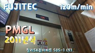 인천 서구 청라SK뷰아파트 후지테크엘리베이터 탑사기
