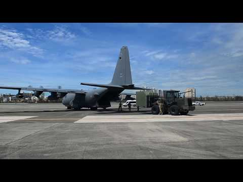 Air Commandos deliver cargo, Marines to Guadeloupe