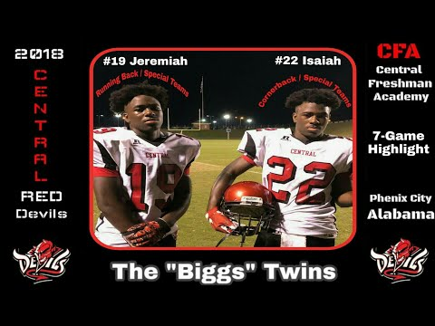 The BiggsTwins- Part 2- 2018 Central Freshman Academy Highlights