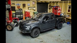Unboxing the New RC4wd Desert Runner ARTR Scale Ford Raptor RC Truck! This thing is SWEET!