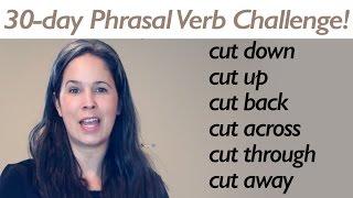 PHRASAL VERB CUT part 1