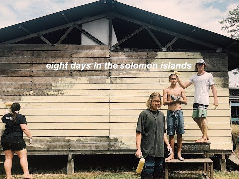 eight days in the solomon islands