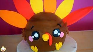 HOW TO MAKE A THANKSGIVING TURKEY CAKE-DOKI CAKES