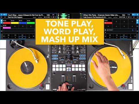 Tone Play, Word Play, Mash Up Mix - Pioneer DJM S9 - #SundayDJSkills