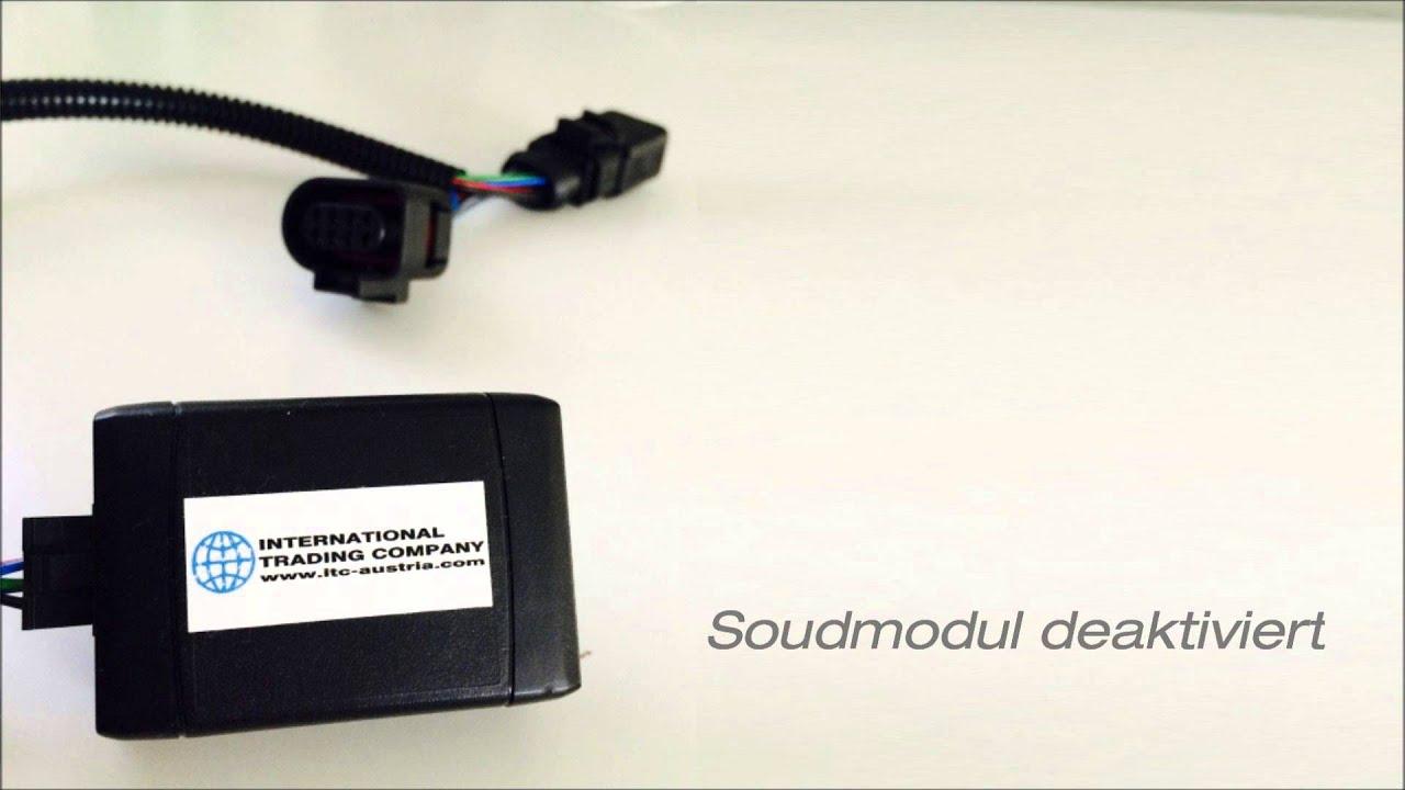 soundmodul f r audi a6 a7 4g bitdi sq5 vw golf 7 gtd. Black Bedroom Furniture Sets. Home Design Ideas
