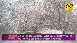 Снежный рекорд дня установлен в Витебске