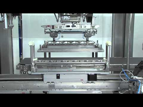 Robotic Packaging Line From Schubert With Fully Automatic Tool Change