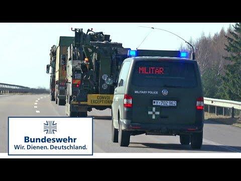 """Logistik bei Enhanced Forward Presence: Mit den """"Trapos"""" unterwegs in Litauen - Bundeswehr"""