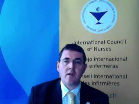 ICN video message to Greek nurses for the upcoming election for HRBoN