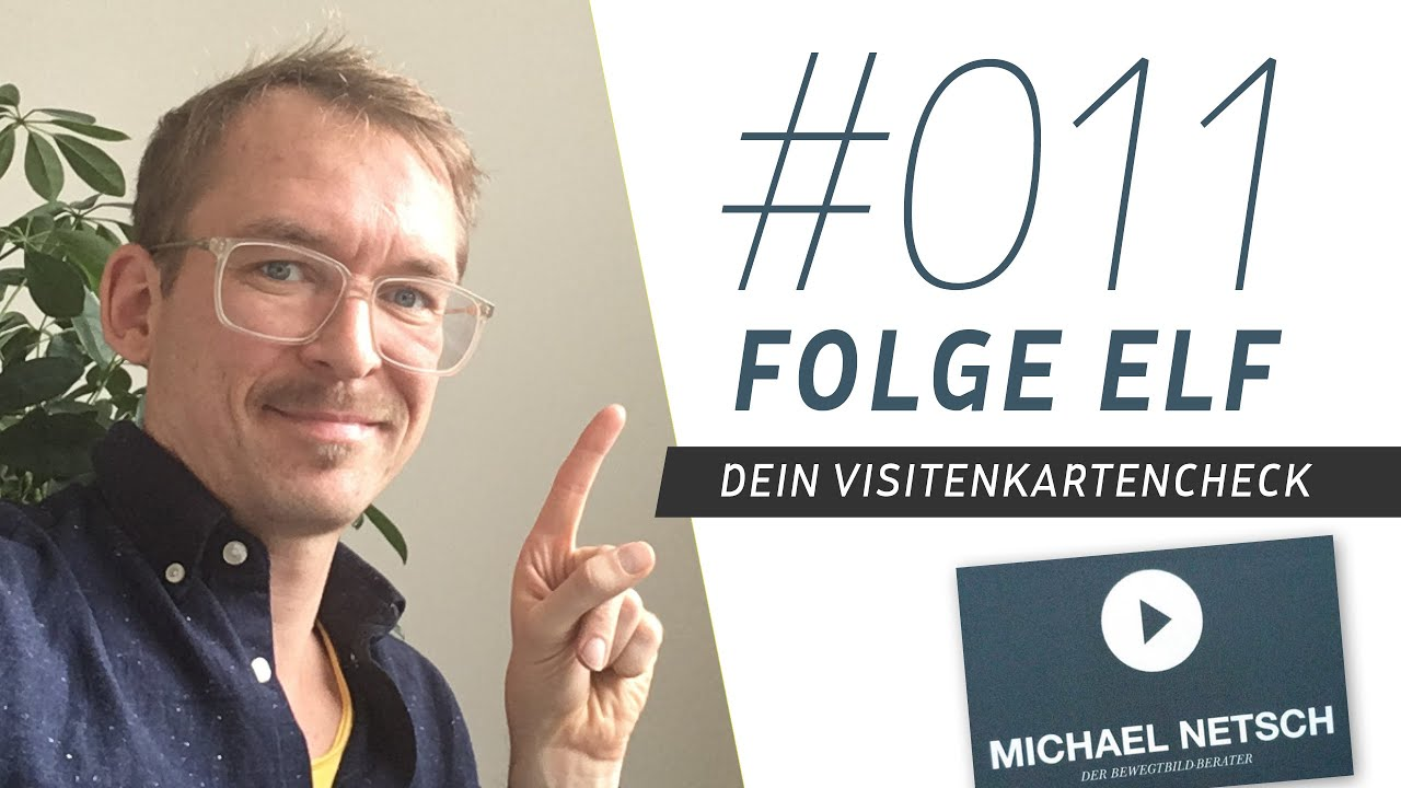 Visitenkartencheck Für Michael Netsch Wie Gestalte Ist Ich Eine Visitenkarte Richtig