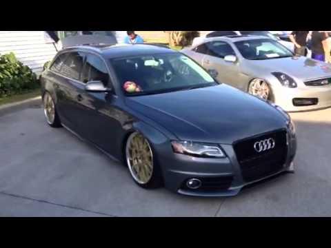Audi Wagon Slammed - YouTube