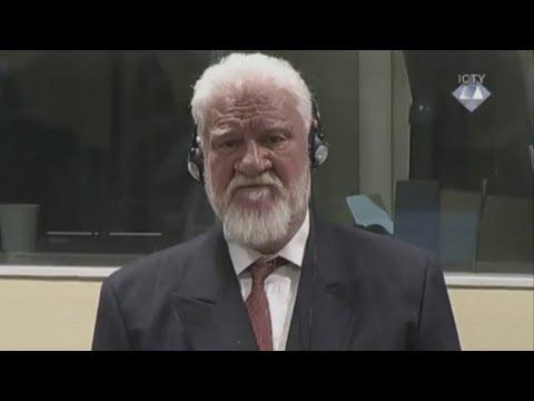 UN-Tribunal in Den Haag: Verurteilter Kriegsverbrecher stirbt nach Gifteinnahme